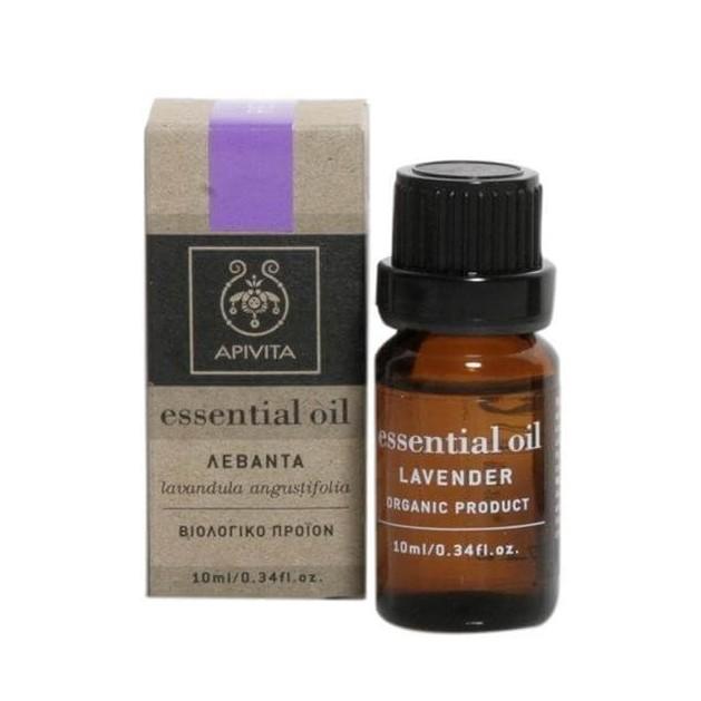 Apivita Essential Oil Lavender Λεβάντα 10ml