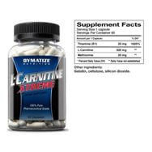 Dymatize L-Carnitine X-treme Για Την Απώλεια Λίπους 60caps