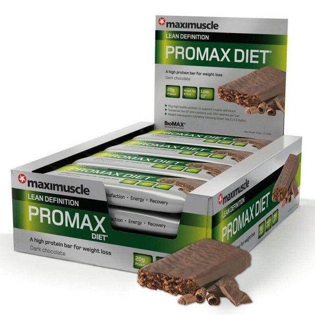 Maximuscle Promax Lean Definition Bar Μπάρα Πρωτείνης Αδυνατίσματος 1τεμάχιο