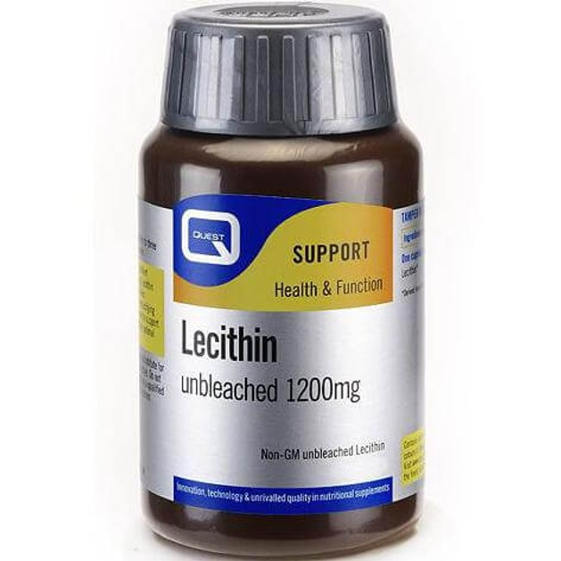 Quest Soya Lecithin Λεκιθίνη 1200mg Caps 45s