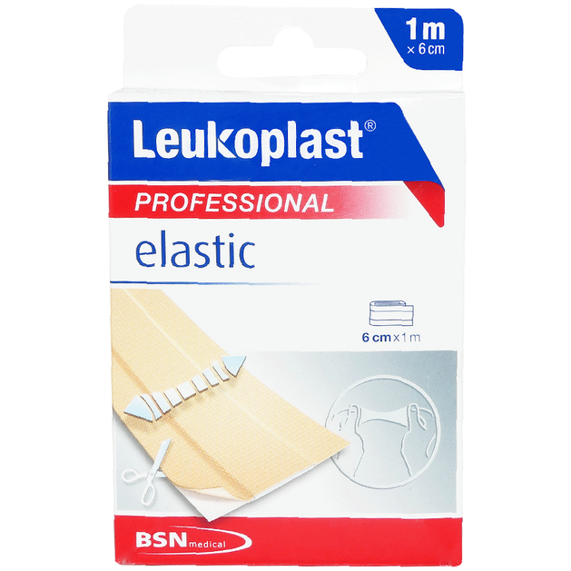 BSN Medical Leukoplast Professional Elastic Αυτοκόλλητο σε Ρολό 1 Μέτρο