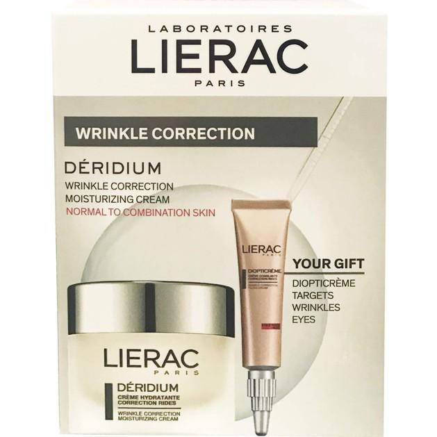 Lierac Πακέτο Προσφοράς Deridium Κανονικές-Μικτές & Δώρο Lierac Diopticreme 100ml
