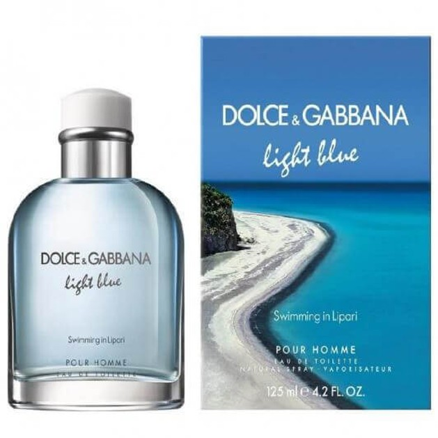 Dolce & Gabbana Light Blue  Swimming in Lipari Pour Homme Eau de toilette 125ml