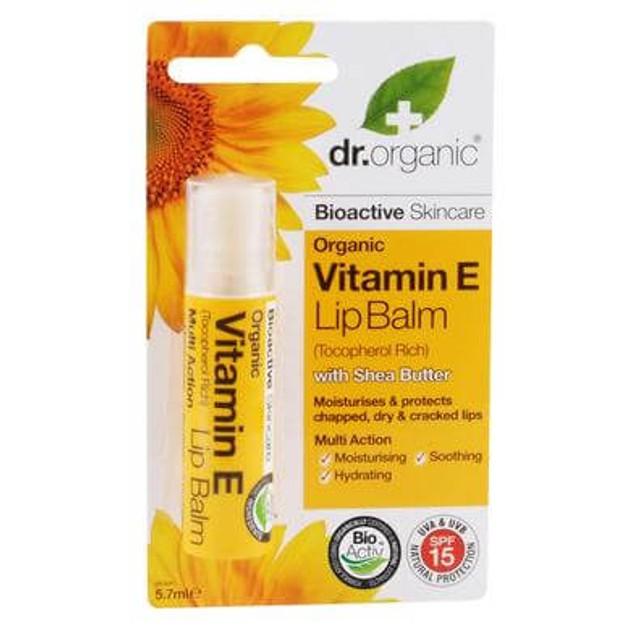 Dr Organic Organic Vitamin E Lip Balm 5.7ml