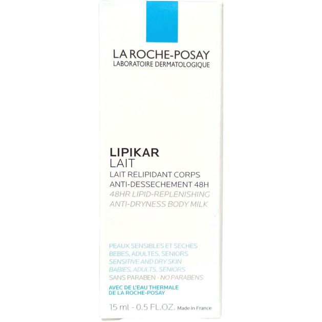 Δώρο La Roche-Posay Lipikar Lait Γαλάκτωμα Σώματος Εμπλουτισμένο με Λιπίδια Κατά της Ξηρότητας 15ml
