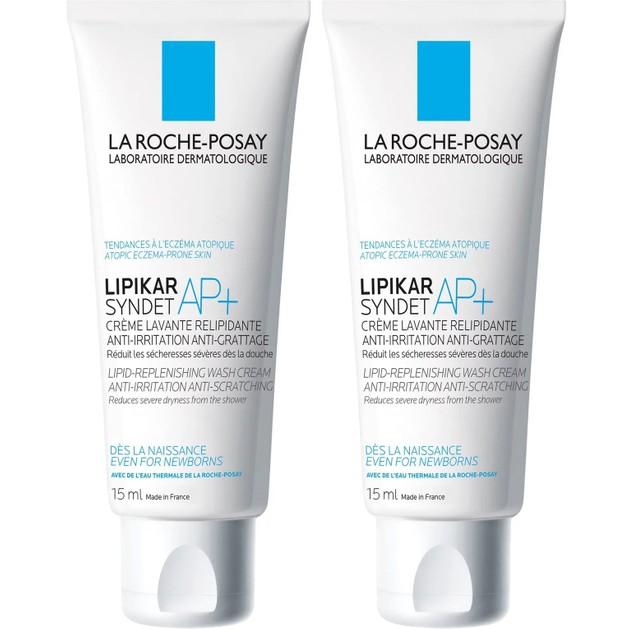 Δώρο La Roche-Posay Lipikar Syndet AP+ Αφρόλουτρο σε Μορφή Κρέμας Κατάλληλο για Ατοπική Δερματίτιδα 2x15ml