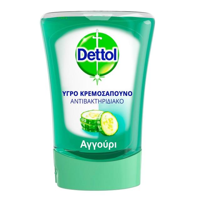 Dettol No-Touch Cucumber Υγρό Σαπούνι Ανταλλακτικό για την Συσκευή No-Touch 250ml