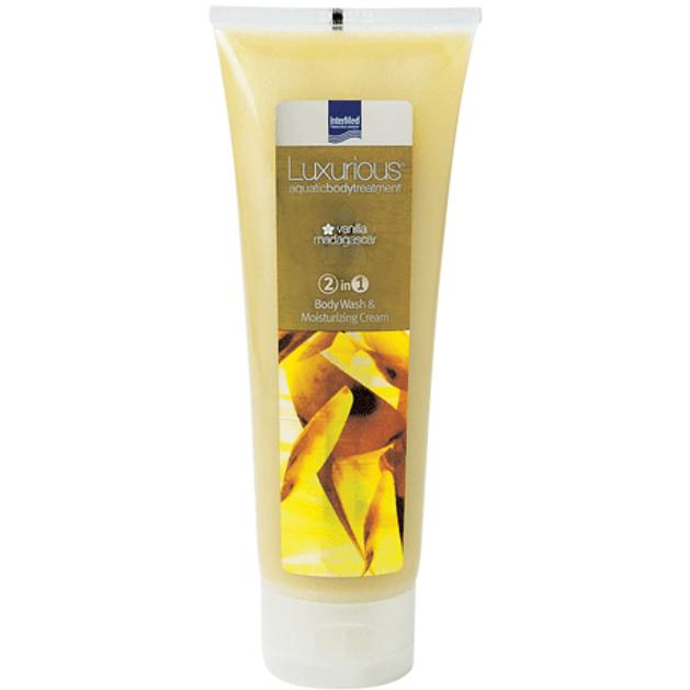 Luxurious Body Wash 2 in 1 Vanilla Αφρόλουτρο & Ενυδατική Κρέμα με Άρωμα Βανίλια Μαδαγασκάρης 250ml