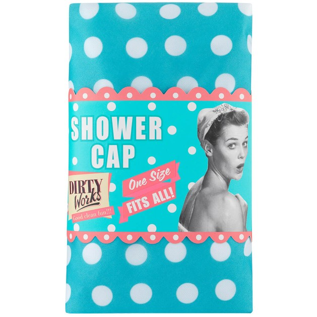 Dirty Works Shower Cap One Size