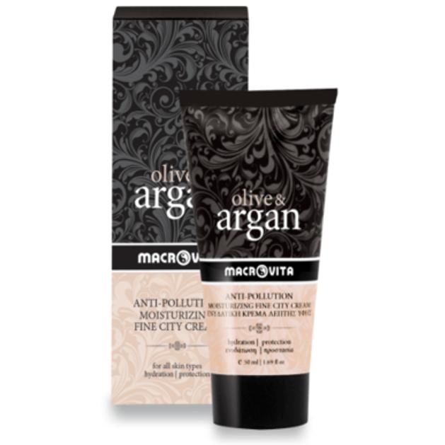 Anti-Pollution Olive & Argan 50ml - Macrovita