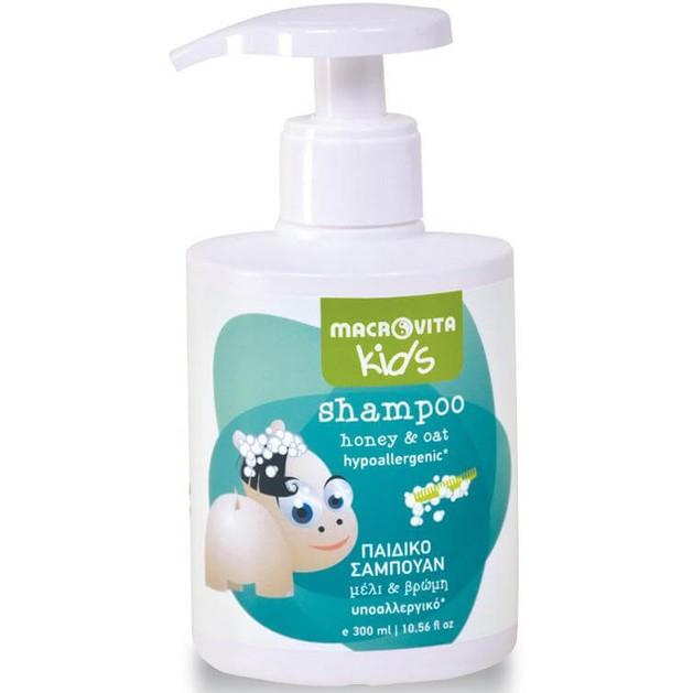 Macrovita Kids Shampoo with Honey & Oat 300ml
