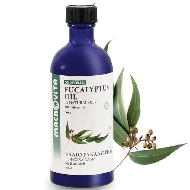 Macrovita Eucalyptus Oil with Vitamin E 100ml