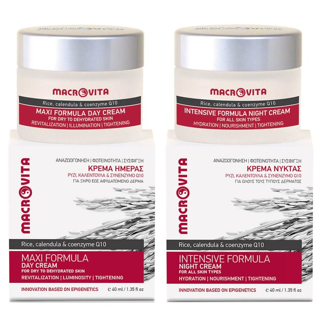 Macrovita Πακέτο Προσφοράς Maxi Formula Day Cream 40ml & Δώρο Intensive Formula Night Cream 40ml