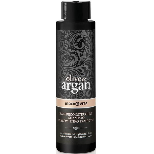 Δώρο Macrovita Olive & Argan Hair Reconstructive Shampoo Αναδομητικό Σαμπουάν 40ml