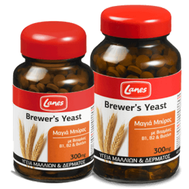 Lanes Brewer\'s Yeast 300mg