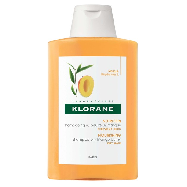 Klorane Travel Size Nourishing Shampoo With Mango Butter Σαμπουάν με Μάνγκο για Ξηρά - Ταλαιπωρημένα Μαλλιά 100ml