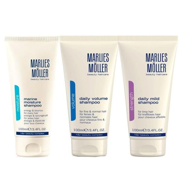 Δώρο Marlies Moller Σαμπουάν Καθημερινής Χρήσης, Φροντίδα για Απαλά Μαλλιά Γεμάτα Ζωντάνια 100ml (Τυχαία Επιλογή) 1 Τεμάχιο
