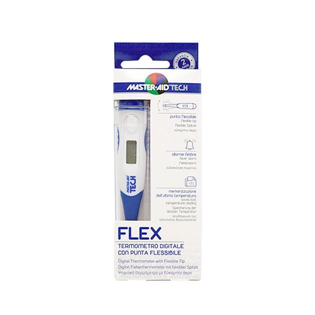 Master Aid Flex Ψηφιακό Θερμόμετρο και Προστατευτική Θήκη 1 τμχ
