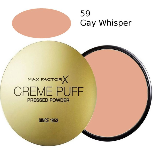 Max Factor Creme Puff  59 Gay Whisper 21gr  (πούδρα)