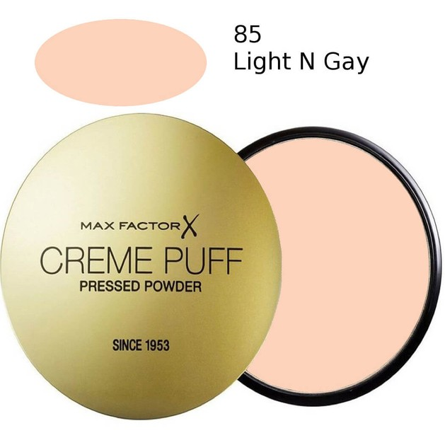 Max Factor Creme Puff  85 Light \'n\' Gay  21gr  (πούδρα)