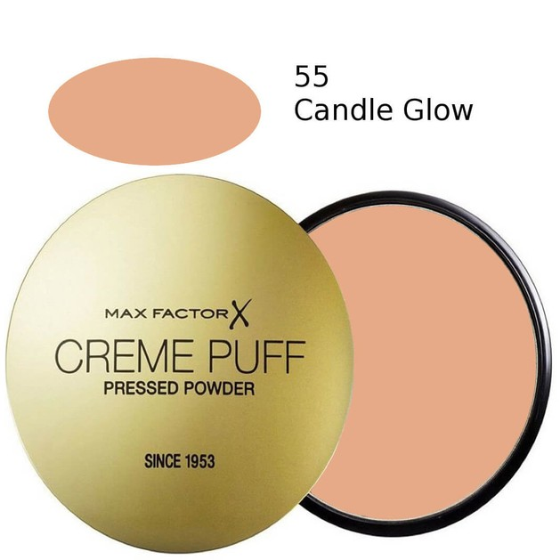 Max Factor Creme Puff 55 Candle Glow  21gr  (πούδρα)