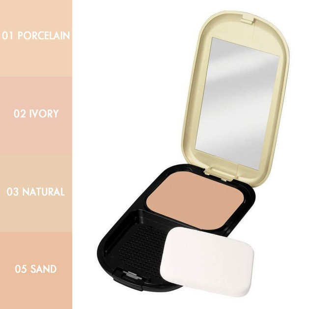Max Factor Facefinity 3 Natural  Compact Foundation (make up)