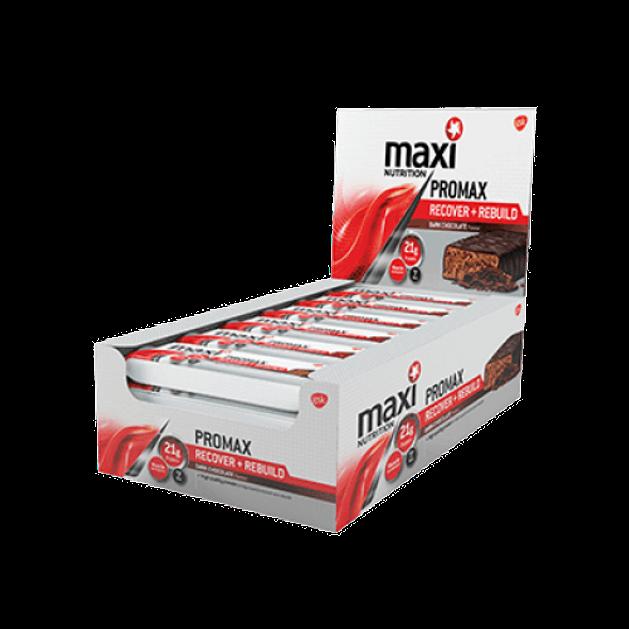 Maximuscle Promax Meal Bar Recover Rebuild Μπάρες Πρωτείνης Για Αποκατάσταση 12x60gr