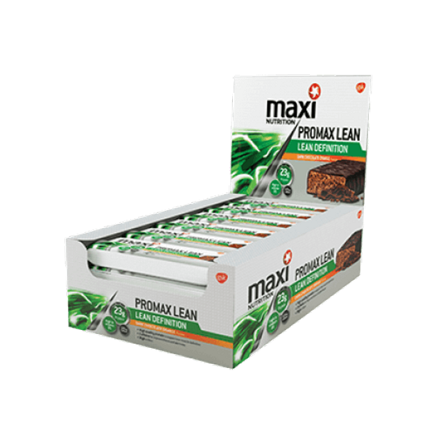 Maximuscle Promax Lean Definition Bars Μπάρες Πρωτείνης Αδυνατίσματος 12x60gr