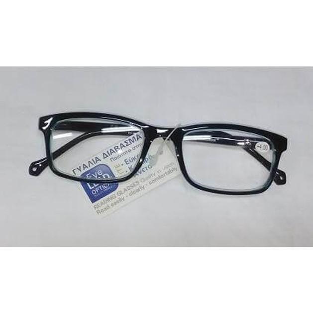 Eyelead Γυαλιά Διαβάσματος Μαύρο Γαλάζιο Κοκκάλινο E143