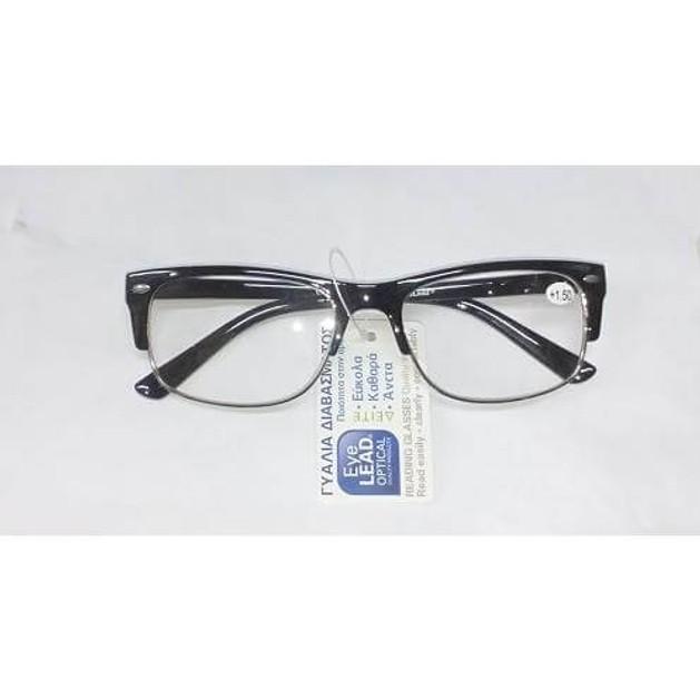 Eyelead Ανδρικά Γυαλιά Διαβάσματος Μαύρο Κοκκάλινο E142