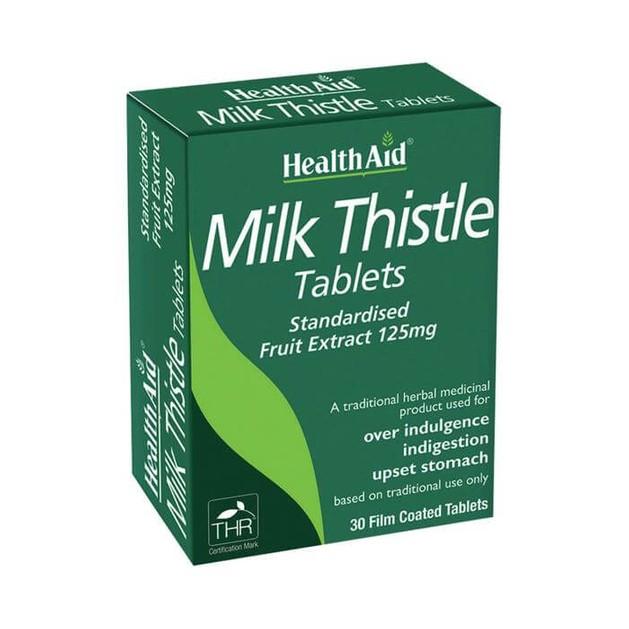 Health Aid Milk Thistle Γαϊδουράγκαθο 30ταμπλέτες