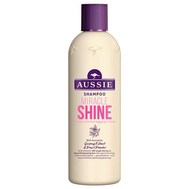 Aussie Miracle Shine Shampoo Σαμπουάν για Θαμπά & Ξηρά Μαλλιά 300ml