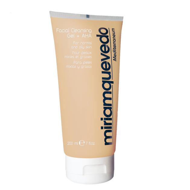 Miriam Quevedo Skin Care Line Gel Καθαρισμού Προσώπου A.H.A. Διατηρεί Το Φυσικό Ph 200ml