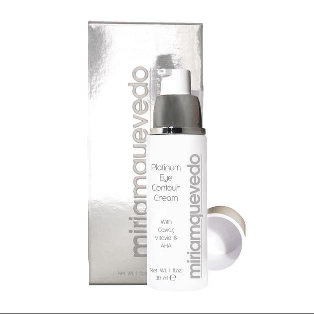 Miriam Quevedo Platinum Eye Contour Cream Κατάλληλη Για Τα Μάτια Και Το Περίγραμμα Των Χειλιών 30ml