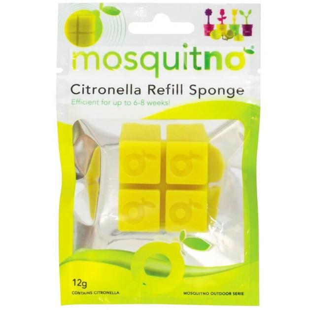 MosquitNo Citronella Refill Sponge Ανταλλακτικοί Κύβοι με Άρωμα Σιτρονέλλας 12gr
