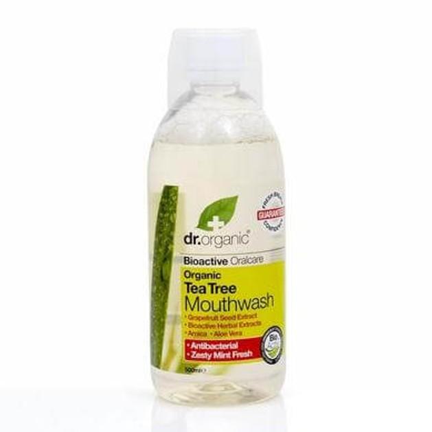 Dr.Organic Organic Tea Tree Mouthwash 500ml