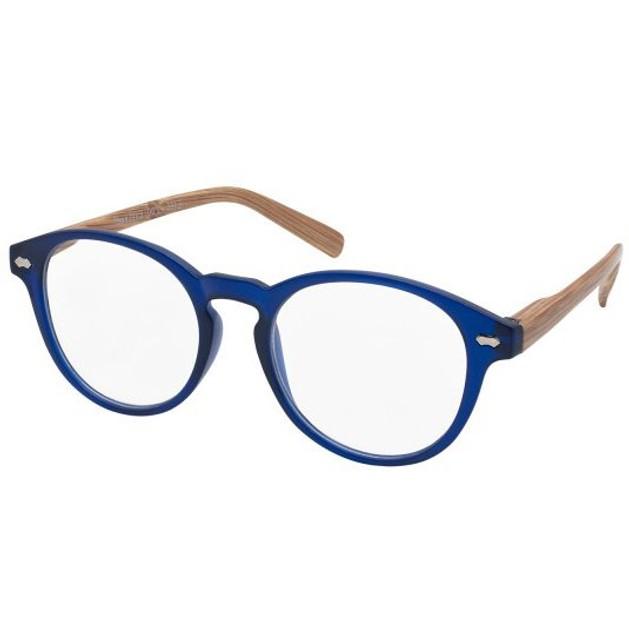 Eyelead Γυαλιά Διαβάσματος Unisex Μπλε με Ξύλινο Βραχίονα Ε185