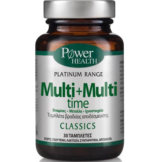 Power Health Platinum Range Multi + Multi time 30tabs