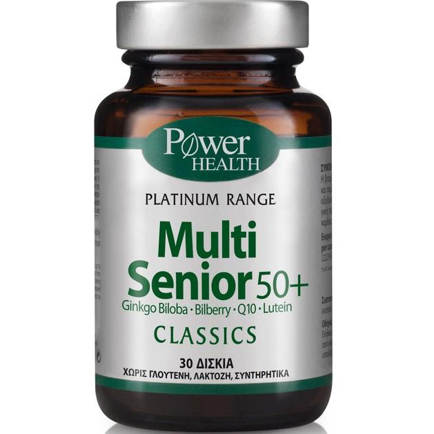 Power Health Platinum Multi Senior 50+ 30tabs