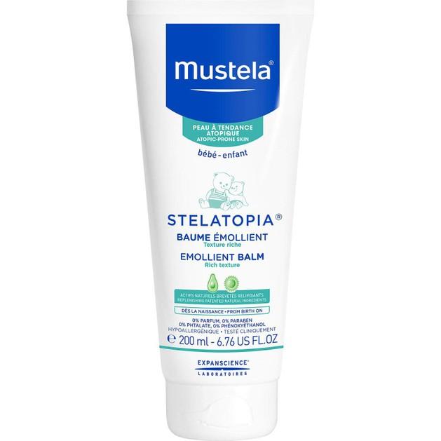 Mustela Stelatopia Atopic Skin Emollient Balm Μαλακτικό Balm για Βρεφική Ατοπική Δερματίτιδα 200ml