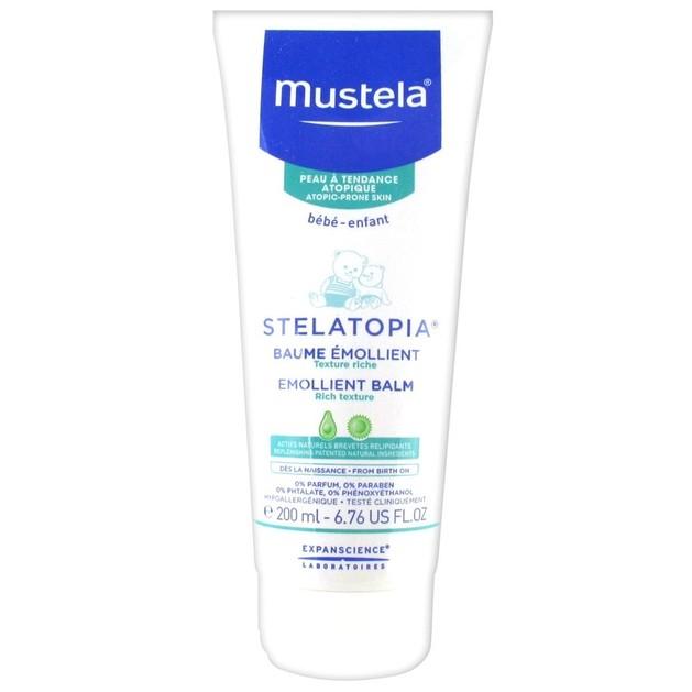 Mustela Bebe Emollient Face Cream Tube Μαλακτική Κρέμα Προσώπου 40ml