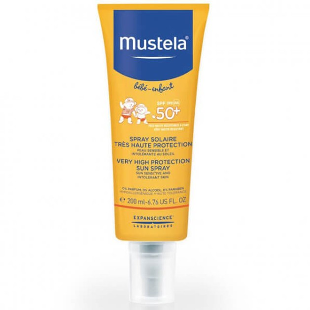 Mustela Bebe Very High Protection Sun Lotion Spf50+ Βρεφικό Αντηλιακό Πολύ Υψηλής Προστασίας 200ml