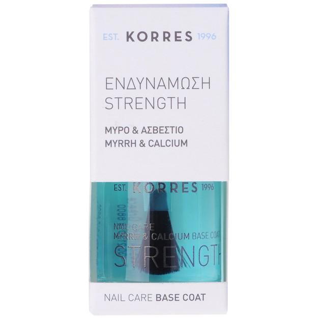 Strength Nail Care Base Coat 10ml - Korres