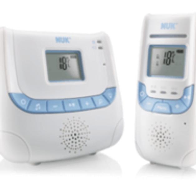 NUK Eco Control+ Ενδοεπικοινωνία με τεχνολογία DECT 267
