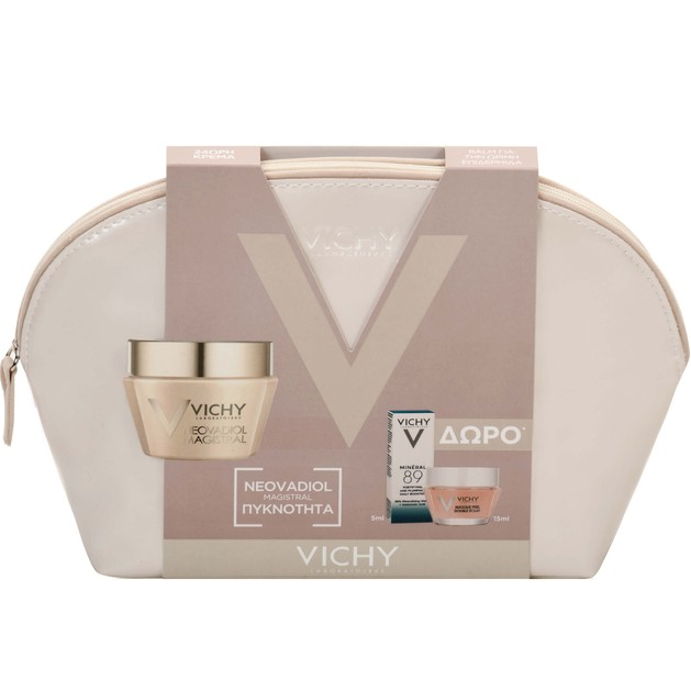 Vichy Πακέτο Προσφοράς Neovadiol Magistral 50ml & Mineral 89 5ml & Masque Peel Double Eclat 15ml