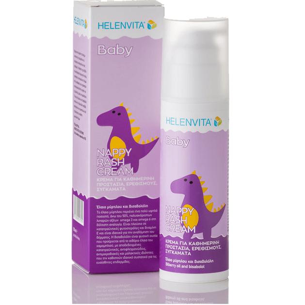 Helenvita Baby Nappy Rash Cream Κρέμα Για Την Αλλαγή Της Πάνας 150ml