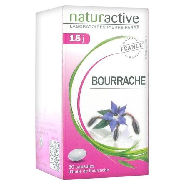 Naturactive Έλαιο Μποράγκο Συμβάλλει στη Θρέψη του Δέρματος 30caps