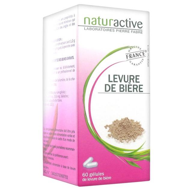 Naturactive Levure De Biere Μαγιά Μπύρας Δυναμώνει Μαλλιά & Νύχια & Συμβάλει στην Ενίσχυση του Οργανισμού 60caps