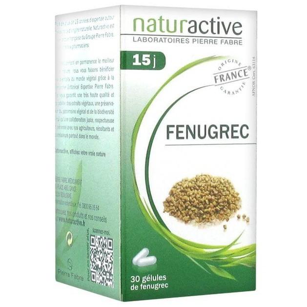 Naturactive Fenugrec Μοσχοσίταρο, Αύξηση & Διατήρηση Μυϊκής Μάζας Μετά από Εξαντλητική Δίαιτα ή Ασθένεια 30caps