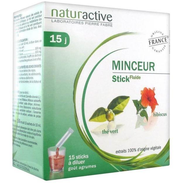Naturactive Minceur Liquid Βοηθάει στην Μείωση των Περιττών Κιλών 15φακελίσκοι